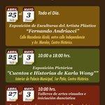 #483AniversarioDeLaCiudadDeOaxaca Continúa la #FiestadeArteyColor Estas son las actividades del día de hoy. http://t.co/FU0VAE2RoC