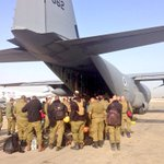 Plans have changed. #IDF Search & Rescue now boarding a Samson aircraft. They will be our first to reach #Nepal http://t.co/Gsgwftmcxb