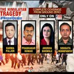 #NepalQuake   Our reporters get you all the insights from Ground Zero.  WATCH HERE: http://t.co/nAGJZvxOXM
