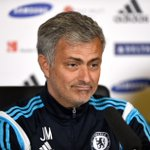 Jose Mourinhos press conference will start in around 10 minutes. You can watch it here: http://t.co/BlY4Bfnls6 #CFC http://t.co/SbKGAiSLrB