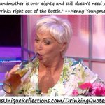My grandma is 80 & still doesnt need glasses. Drinks right out of the bottle http://t.co/UQWaMGHQfd #etsymntt #wine http://t.co/Z9nDiuYtjg
