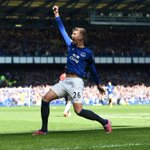 A great day at Goodison Park yesterday. Heres our favourite photo from the 3-0 win over Manchester United. #EFC http://t.co/A3DKMQRiDI