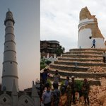 Before and after photos of Nepals landmarks reveal devastating impact of earthquake: http://t.co/5AeHbaHolA http://t.co/JFV0oNn1yu