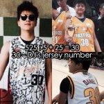 525 : 5 + 25 = 30 - DJs jersey number ???? Alam na this. ???????? @imdanielpadilla #teenkingcode525 -???? http://t.co/rQXiLoGbRZ