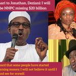 Buhari to Jonathan, Deziani: I will probe NNPC missing $20 billion - http://t.co/BiRO5c0jt0 http://t.co/wgBCi636F9
