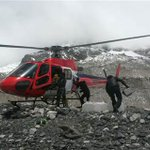 Stranded Mount Everest climbers airlifted to base camp after Nepal #earthquake http://t.co/sFGh0FvZJ0 http://t.co/2Ek5elq7PI