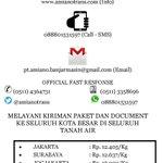 Lion Express Banjarmasin | Banjarmasin - Padang: Rp. 19.000 (Kg) | CP (0511) 4364731 | Web http://t.co/MGyb4vKZ8u http://t.co/SRI0WUdiTX