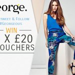 To celebrate @Georgeatasda new womenswear range, were giving away 5 £20 giftcards. RT & FOLLOW to #win #georgeous http://t.co/rLAxWPiQrG
