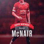 Happy 20th birthday to #mufc defender Paddy McNair. http://t.co/T0QZLOznlA