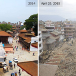 Photos of Nepal's landmarks, before and after the earthquake http://t.co/XRkEnrpKV0 http://t.co/4ebuhUEzTx