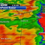 TORNADO WARNING until 5:15am for Walker (including Huntsville) and San Jacinto Counties. Storm moving east at 65mph http://t.co/75PhWbA1oR