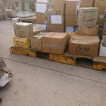 Relief material sending by @derasachasauda organisation4 natural disaster victims to nepal. #MSGHelpEarthquakeVictims http://t.co/dMIyzfXZry