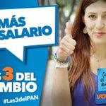 Somos jóvenes y queremos un futuro con mejores oportunidades. Entre #Las3DelPAN, el PAN propone mejores salarios. http://t.co/qPp02lJZvd