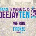 #DeejayTen il 17/5 a #Firenze la corsa di @radiodeejay http://t.co/j7mt8V1AuI #radio @LinusDJ @comunefi #running http://t.co/r4N11PBpPd