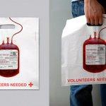 RT @Amscreen_Simon: Clever use of bag design by @RedCross #Marketing http://t.co/kskNv7bOtd