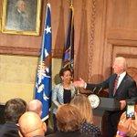Vice President Biden begins to swear in new Attorney General Loretta Lynch @TheJusticeDept http://t.co/hyu7SyuJLP