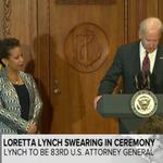 LIVE: Loretta Lynch being sworn in as US attorney general: http://t.co/0nuzHcN2rj - @ABCPolitics http://t.co/gu0pO14xiC