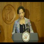 """""""It's been quite a process,"""" says Atty Gen Lynch of the five months she waited for Senate confirmation. http://t.co/NTQJBW5TJU"""