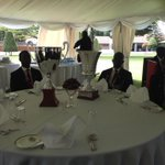Uganda National Golf team the Champions now being hosted to a luncheon by .@KagutaMuseveni at State Lodge Nakasero http://t.co/mfzAlvrRl8