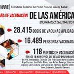#Aragua Eficiencia en Vacunación. @TareckPSUV @NicolasMaduro http://t.co/NS6gS3P8wO http://t.co/MaXj0zfVQM