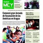 Esta es la portada de hoy de nuestro @CiudadMCY @TareckPSUV http://t.co/yipI6oo2OD
