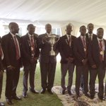 PHOTOS: Ugandaa Golf team was today hosted to a luncheon by President Museveni. Uganda are #Africa Zone 6 champions http://t.co/UZl6YcNKfK