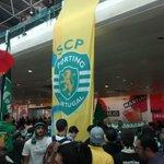O aeroporto é nosso! #TaçaCERS #SportingCP http://t.co/Bca2TO0kj9