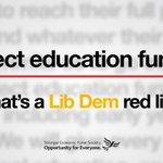 Liberal Democrats set education red line #GE2015 http://t.co/f2FSisxeCU http://t.co/4zm3dYtFjJ