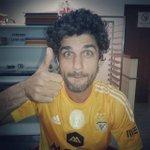 Apesar de não ter estado ontem na Catedral, @BrunoCabrerizo também apoia o Benfica! http://t.co/C1tTIwI8L3