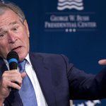 George W. Bush ripped Obama on foreign policy http://t.co/Nlcu99u5IO http://t.co/RgyULdbh9h