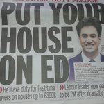 Labour on the side of first time buyers. #stampdutyaxed . Excellent news and welcome!. Thank you @Ed_Miliband http://t.co/XnZMmjsvoW