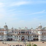 Janaki Mandir 1910 AD is a Hindu temple of Goddess Sita in Janakpur, Nepal. It might had damaged due to #Earthquake http://t.co/7lb7g0JIJ1