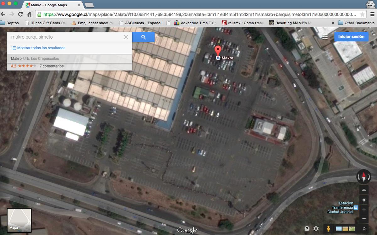 En efecto, es el makro de Bqto. donde se ve la cola de gente http://t.co/GycZFsRPPY
