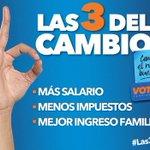 #ENTÉRATE 1)Subamos los salarios 2)Bajemos los impuestos y 3)mejoremos la economía familiar, éstas son #Las3DelPAN http://t.co/c7b2wsVqxv