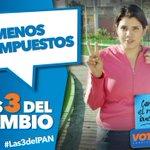 #SabíasQue PAN propone bajar los impuestos para que pagues menos y ahorres más, es lo justo ¿A poco no? #Las3DelPAN http://t.co/OQG2sTqJ0v