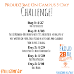 Starts TODAY!! Share your No Filter Selfie with the hashtag #Proud2Bme5day to kick off the week! http://t.co/e3YXEeLsFf