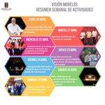 Les comparto el resumen semanal de obras y acciones realizadas por un #Morelos Seguro, Justo y en Paz. #VisiónMorelos http://t.co/4gP0VrERlb