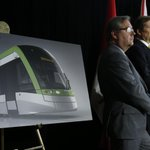 Ont. Transport Minister Steven Del Duca announces Finch West LRT starts in 2016 & completed by 2021 #TOpoli #onpoli http://t.co/huhNcr3hmR