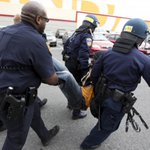 Images from Baltimore: Police injured in protests http://t.co/NUYfzj3RgS http://t.co/GFsJGfahFS