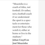 Johan Cruyff. One of the worlds great players and innovators. http://t.co/zGW6Y0eE4h