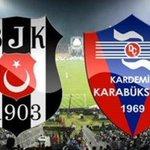 Beşiktaş 2-1 Kardemir Karabükspor'u mağlup etti #LiderBesiktas http://t.co/t58y5K8rKK http://t.co/e4xlQC0tHF