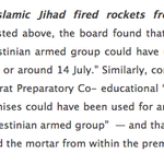 Explosive: UN admits Gaza terrorists fired rockets from @UNRWA schools. Key findings @UNWatch: http://t.co/sj7MWWownz http://t.co/vPZ60ZVX5H