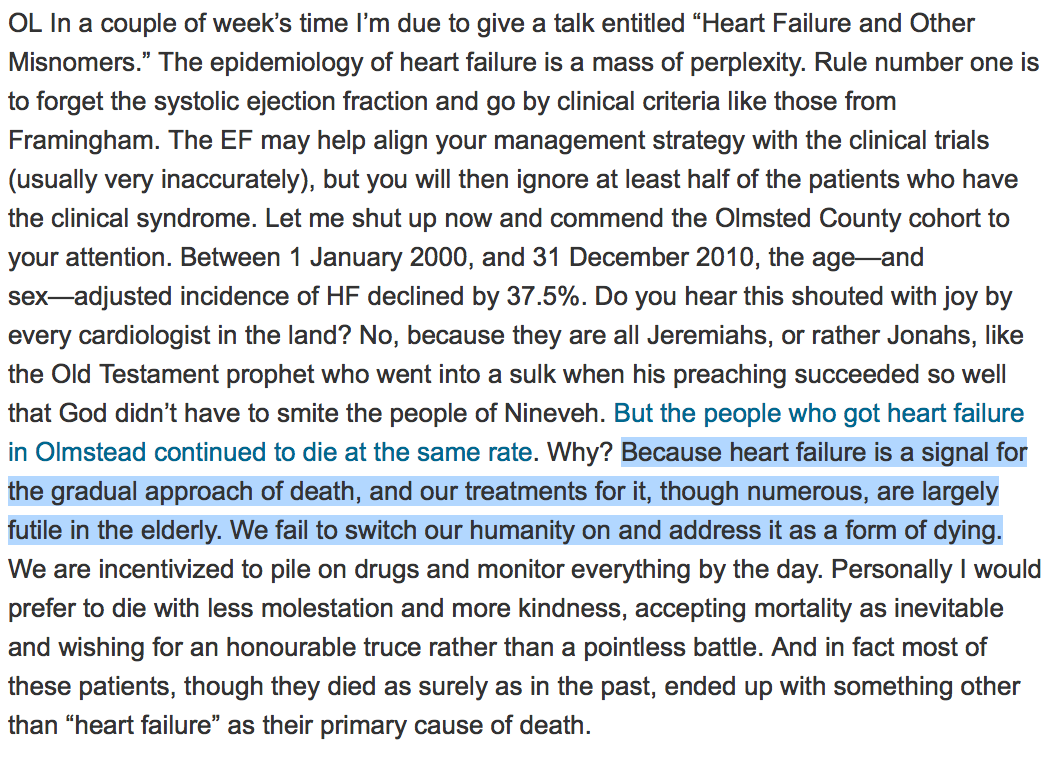Docs owe a debt to @RichardLehman1. Keep it up sir. This p-graph on heart failure is priceless http://t.co/WvFZkQo3kZ http://t.co/9aAGY16dCR