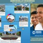 #elmejorHermosillo es un Hermosillo Moderno, una ciudad ejemplar en México y el mundo. http://t.co/YPqx59FGdi http://t.co/WDFs8MuKdG
