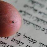Do tamanho de cabeça de alfinete, menor Bíblia do mundo é exposta http://t.co/QnVGfYGFL8 #G1 http://t.co/MYLreGQ9ZG