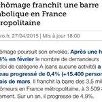 """Hollande en décembre 2013 : """"linversion de la courbe du chômage est bien amorcée """" http://t.co/MqrnX7NDN5"""