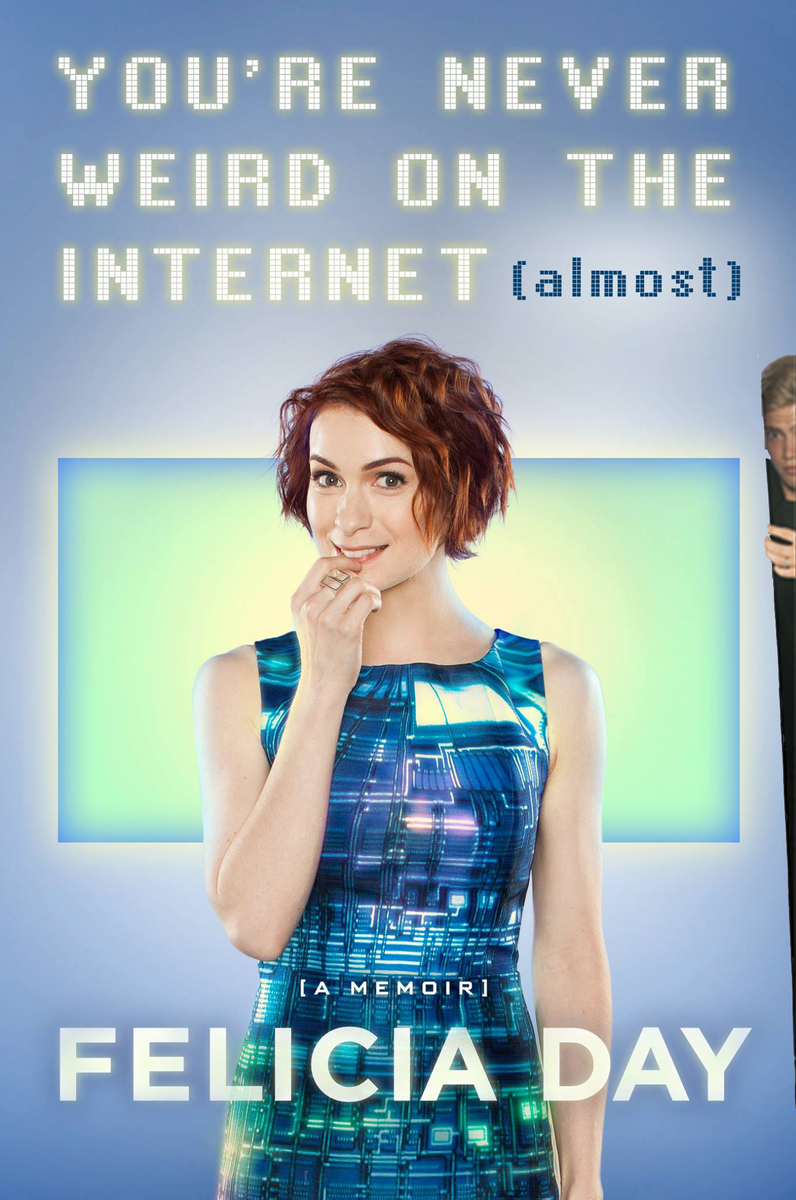 @feliciaday Love it, but that guy keeps trying to sneak into your cover... #finalcoverguy http://t.co/DHmAzTqpJA