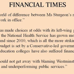 This morn on GMS I said every day in Renfrewshire we see the gap between SNP rhetoric & reality. Seems FT agrees. http://t.co/vGRjT5mmlN