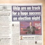 Survation Poll shows UKIP up 5 points in 3 weeks to 18%. Vote UKIP GET UKIP. http://t.co/yxYJGp57ZM