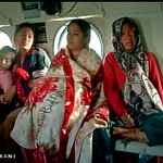 Rescued people being taken to safe zone by IAF #NepalEarthquake http://t.co/w52I9Wy2kP